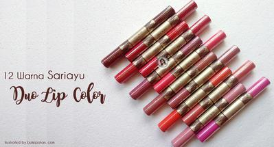 Intip Warna Sariayu Duo Lip Color Yang Cocok Banget Untuk Pemilik