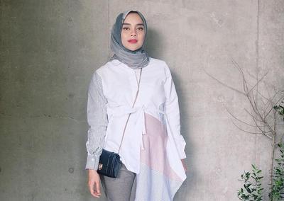 Tetap Cantik Saat Hamil, Outfit yang Dipilih Tiqasya Ini Menggemaskan Banget!