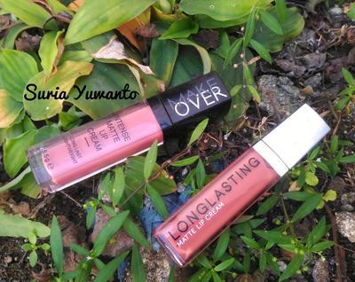Harganya 11-12! Antara Lip Cream LT Pro VS Make Over, lebih bagus mana yaa?