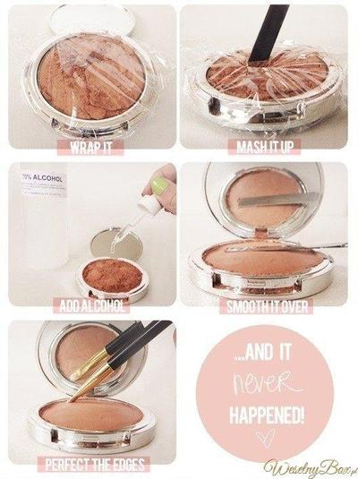 Make Up Kamu Pecah? Yuk Kembalikan Seperti Semula dengan Cara Mudah Ini!