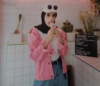 Kamu Bisa Dikira Selebgram Hijabers Kalau Pakai Padu Padan Jacket