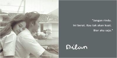 Ladies.. Apa nih Quotes dari Film Dilan yang paling bikin kamu baper??? Share dong..