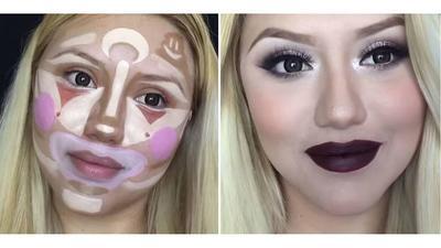 Ladies, Tertarik Nyobain Teknik Clown Contouring? Katanya Bisa Bikin Wajahmu Flawless Seperti Ini!