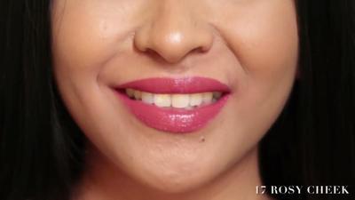 Lip Cream Wardah No. 17 Rosy Cheek