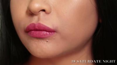 Lip Cream Wardah No. 18 Saturdate Night