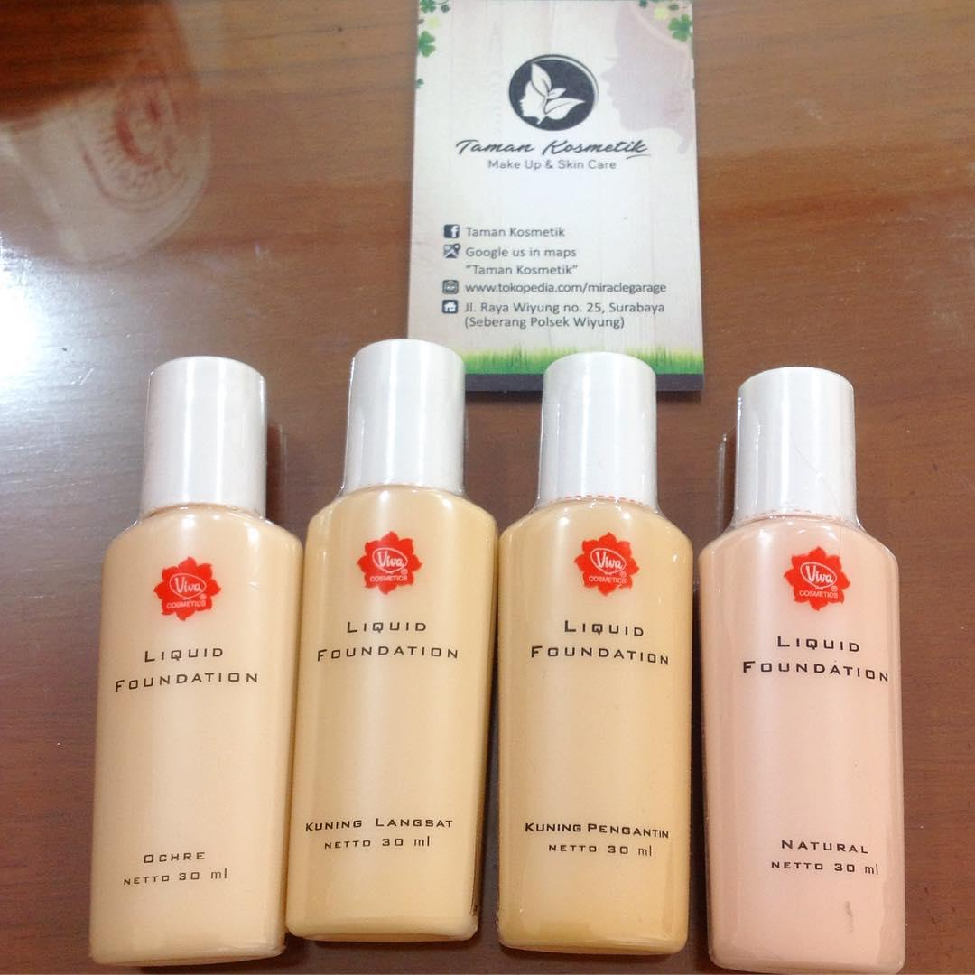Murah Meriah Viva Liquid Foundation Cocok Gak Ya Untuk Kulit Air Mawar Berminyak Help Cosmetics Beautynesia