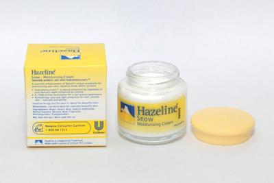 Dear, Ada yang Masih Pakai Hazeline Snow Moisturising Cream? Legendaris Banget Loh Ini!