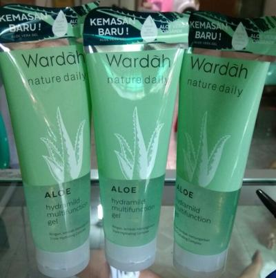 Dear, Ini Beneran Kemasan Baru Wardah Aloe Vera Gel Ya?? Apa Jangan-Jangan Palsu?