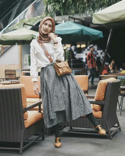 Tampil Fashionable Dengan Legging Wudhu Kekinian Why Not Muslim