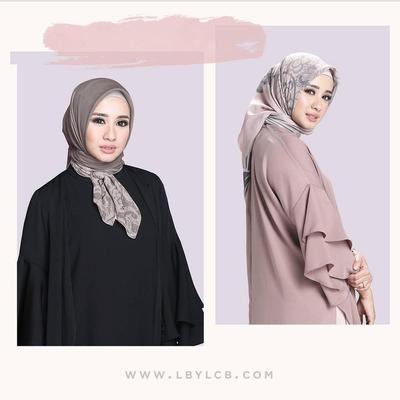 Bahan Hijab Untuk Wajah Bulat