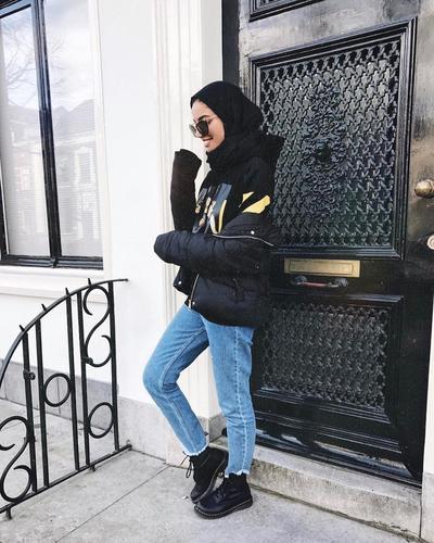 innovative outfit hijab untuk nonton konser 9