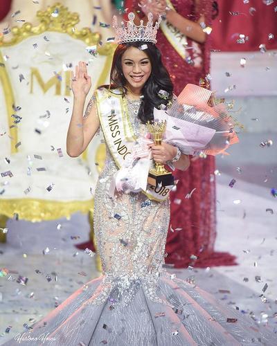 Natural Banget! Begini Gaya Make Up Alya Nurshabrina Miss Indonesia 2018!