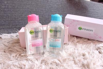 #FORUM Garnier Micellar Water, Lebih Bagus yang Pink atau Biru Ya?? Please Help..