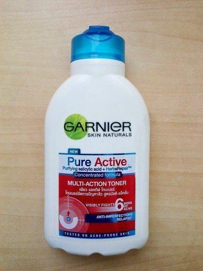Garnier Pure Active 6 in 1 Multi-Action Toner