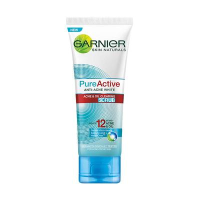 Garnier Pure Active 12 in 1 Multi Action Scrub