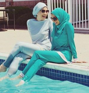 Biar Gaya Makin Stylish, Inilah Model Hijab yang Nyaman dan Aman untuk Dipakai Renang