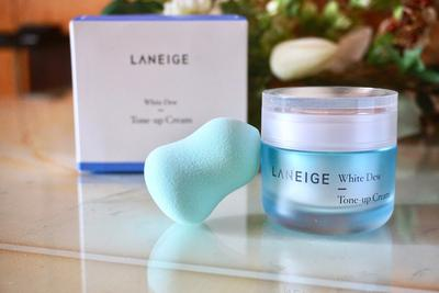 #FORUM Review Laneige White Dew Tone Up Cream untuk Mencerahkan Kulit