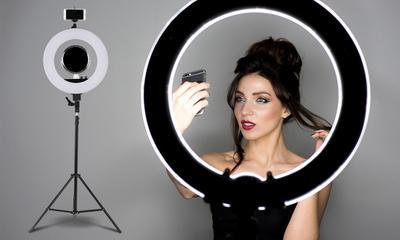 #FORUM Berapa dan Beli Dimana Ya, Ring Light Ala Beauty Vlogger??