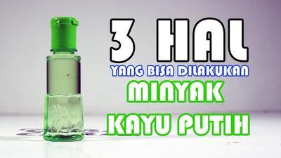 #FORUM Minyak Kayu Putih Bisa Buat Ngecilin Jerawat? Mitos or Fakta?