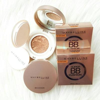 Review Maybelline Super Ultra Cover Cushion, BB Cushion Drugstore yang Lagi Jadi Omongan