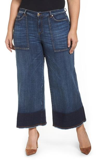 Wide Leg Style Jeans and Ankle-Lengthy