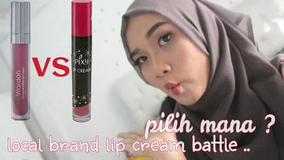 #FORUM Lip Cream Wardah vs Lip Cream PIXY, Lebih Bagus Mana??