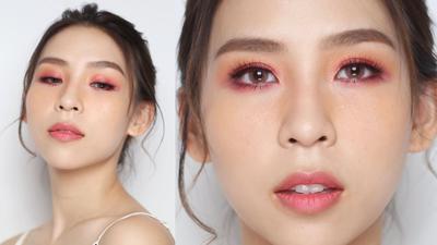 Wah, Ini Dia Tutorial Makeup Romantic Pink Look ala Tina Yong