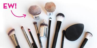 Malas Mencuci Make Up Brush? Siap-siap Mengalami 5 Akibat Ini, Ladies!