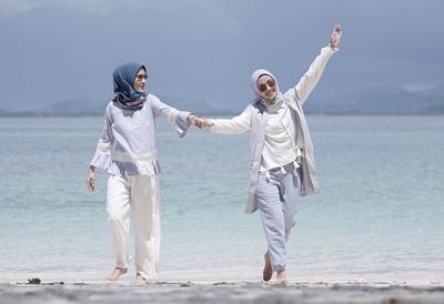 #FORUM Rekomendasi Outfit Liburan Pantai untuk Cewek Pakai Hijab