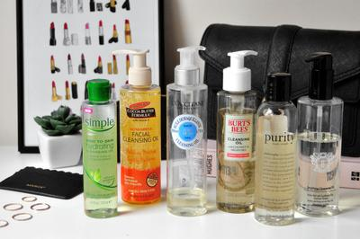 1. Cleansing Oil