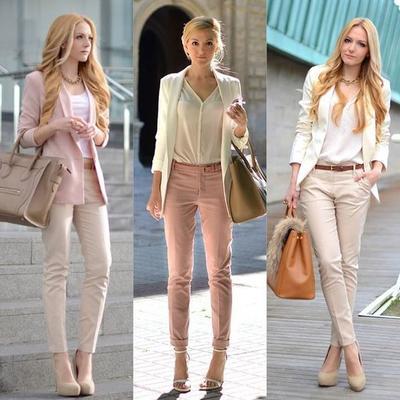 Pilih Outfit Warna Pastel Seperti Ini untuk ke Kantor! Gemas Tapi Tetap Formal Lho