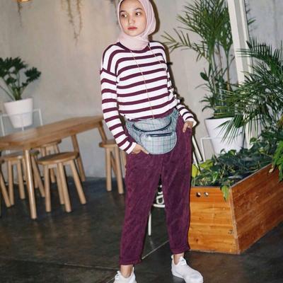 Padukan dengan Style Kekinian Ini Meskipun Kamu Lagi Bergaya dengan Hijab Praktis dan Simple