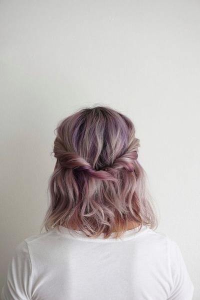 Half Twist Hairstyles