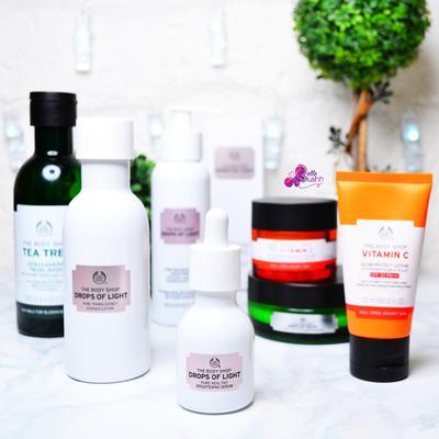 Deretan Produk-Produk The Body Shop yang Ampuh untuk Mencerahkan Wajah!