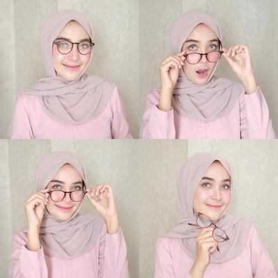 Ini Tren Hijab Pashmina Tanpa Pentul yang Lagi Populer di Kalangan Para Hijabers