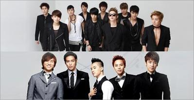 #FORUM Lebih Suka Big Bang atau Super Junior?