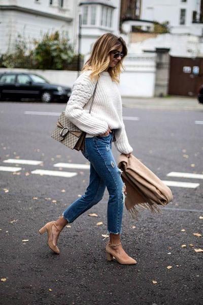 Sweater Over Heels