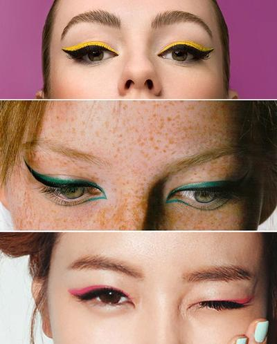 Yuk, Tampil Fresh dengan Tips Dan Inspirasi Penggunaan Eyeliner Warna-Warni
