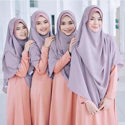 Cantiknya! Ini 5 Gaya Hijab Menutup Dada untuk Pesta dengan Kombinasi Simple dan Sederhana