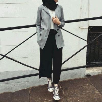 Sleek Hijab Look