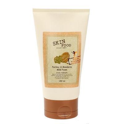6. Skin Food Parsley and Mandarin Mild Foam