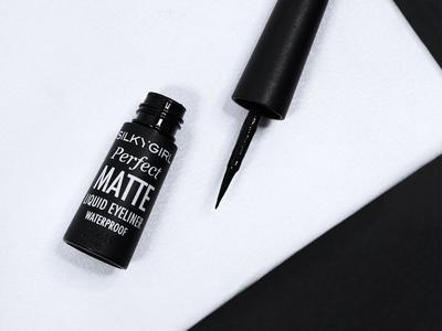 1. Silkygirl Perfect Matte Liquid Eyeliner