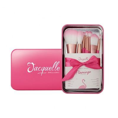 Jacquelle Beauty Brush Set Flamingo