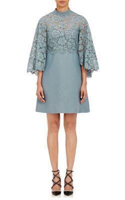 Short Kebaya Cape Dress