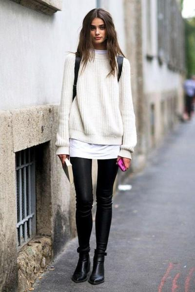 Do's: Sweater & Ankle Boots