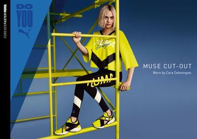 #NEWS PUMA Muse-Cut-Out x Cara Delevingne
