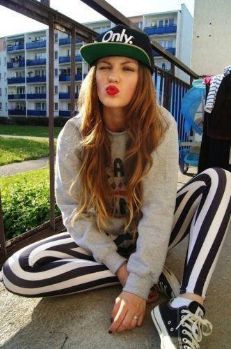 Sweater & Pattern Pants