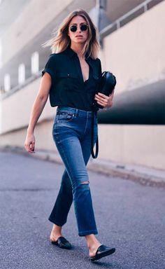 The Modern Style of Selop, Inspirasi Tampilan dengan Menggunakan Mule Shoes!