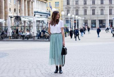 Pakai Tulle Skirt Sehari-Hari, Kenapa Tidak? Intip Inspirasi Ini Yuk!