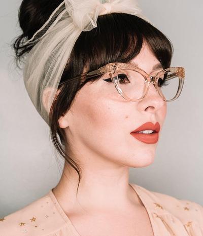 Kacamata Dengan Bingkai